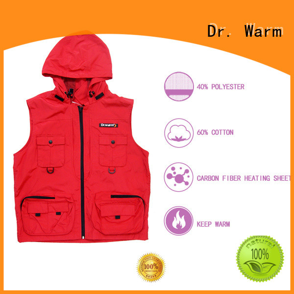 Dr. Warm healthy heated vest canada improves blood circulation for home
