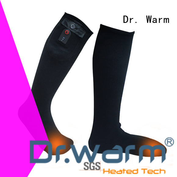 soft battery socks cotton keep you warm all day for winter