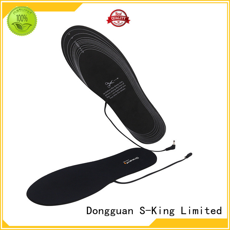 warm heated insoles for work boots winter with cotton for indoor use