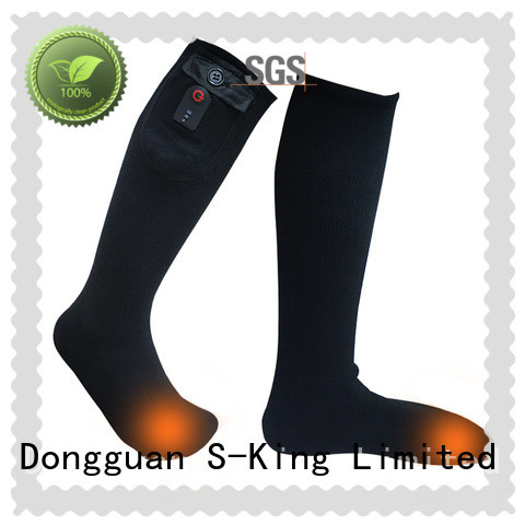 Dr. Warm soft best electric socks for outdoor