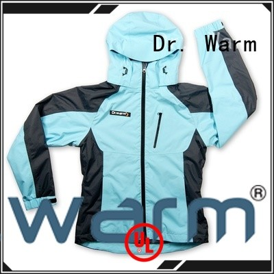 Dr. Warm winter heated winter jacket with arch support design for outdoor