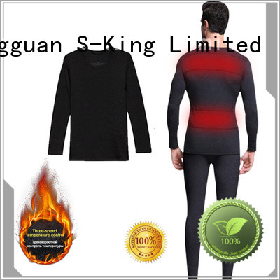 Dr. Warm clothes battery powered thermal underwear improves blood circulation for outdoor