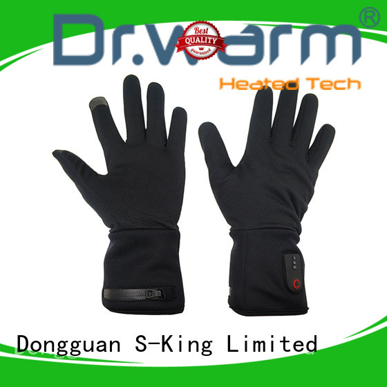 sensitive mens heated gloves improves blood circulation for indoor use Dr. Warm
