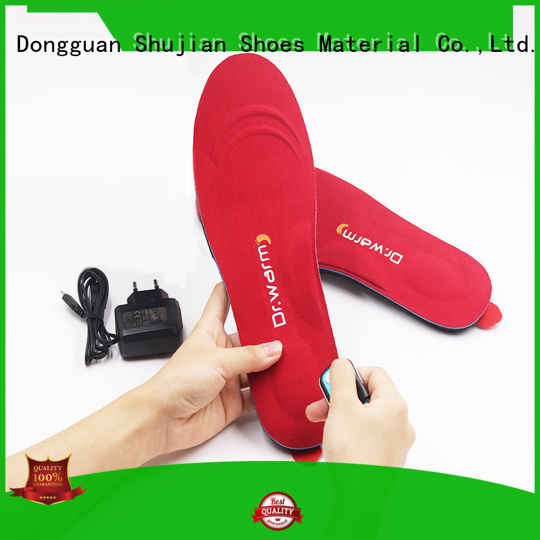 heat moldable insoles electric control electric insoles usb Dr. Warm Brand
