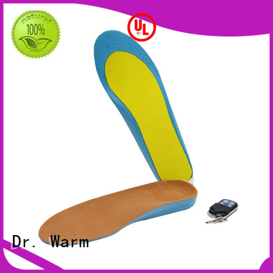 Manual Control R3 Warmer Heated Insoles Dr.Warm Rechargeable Battery powered