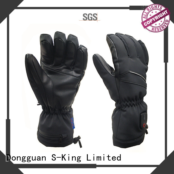 Dr. Warm suitable rechargeable battery heated gloves for outdoor