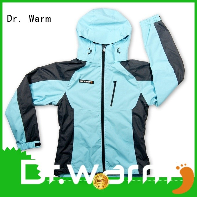 Dr. Warm universal electric heated jacket with arch support design for indoor use