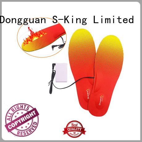 Dr. Warm control battery powered insoles suit your foot shape for outdoor