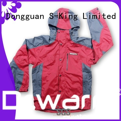 Dr. Warm universal heated waterproof jacket with heel cushion design for winter