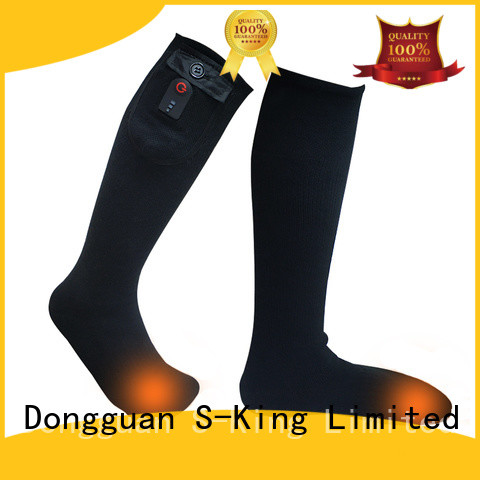 Dr. Warm cotton electric socks keep you warm all day for indoor use
