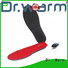 wire electric heated shoe insoles golfing fit to most shoes for indoor use