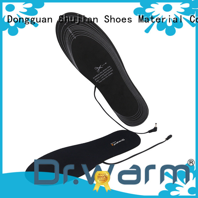 Dr. Warm rechargeable heated insoles rechargeable for ice house