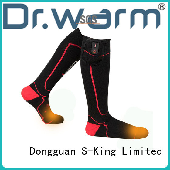 Dr. Warm warm battery socks for ice house