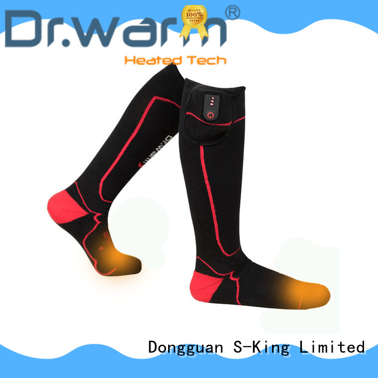 battery operated socks soft for indoor use Dr. Warm