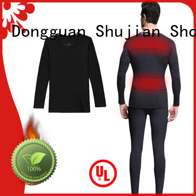 Dr. Warm heated battery heated base layer underwear ice house