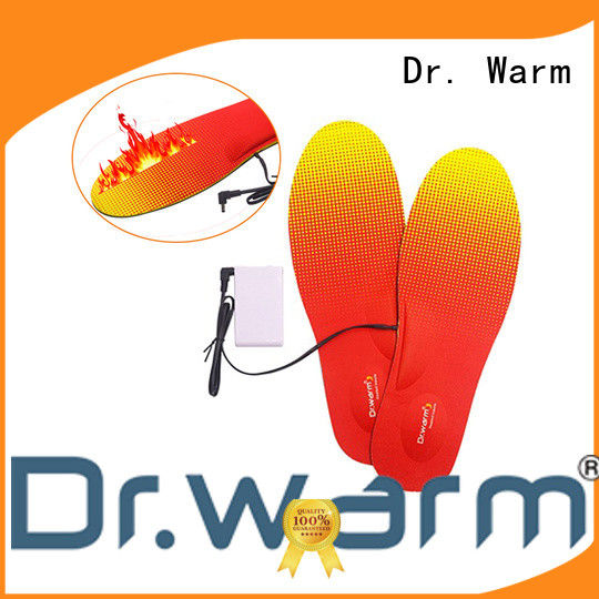 Dr. Warm wire heated insoles bluetooth with cotton for indoor use