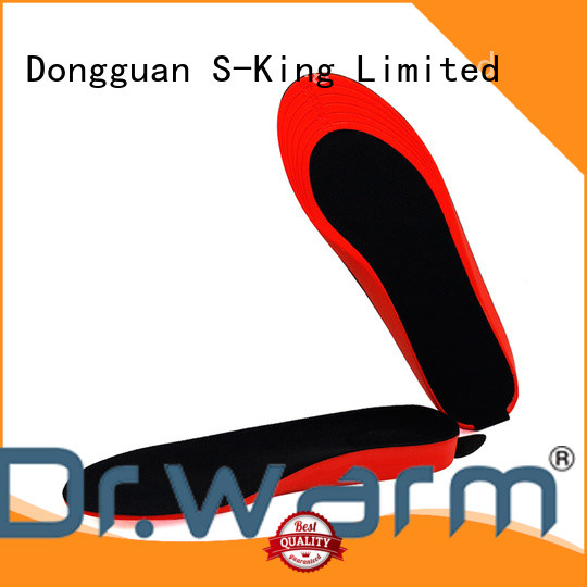 Dr. Warm rechargeable heated boot insoles electric for home