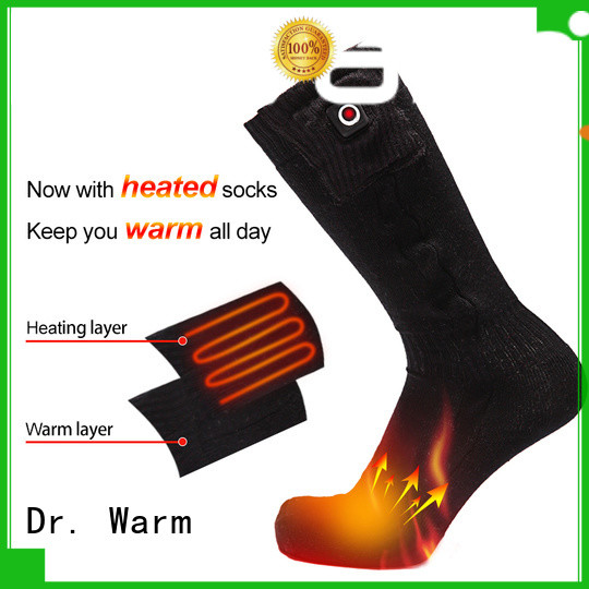 degrees soft best heated socks for skiing washable Dr. Warm company