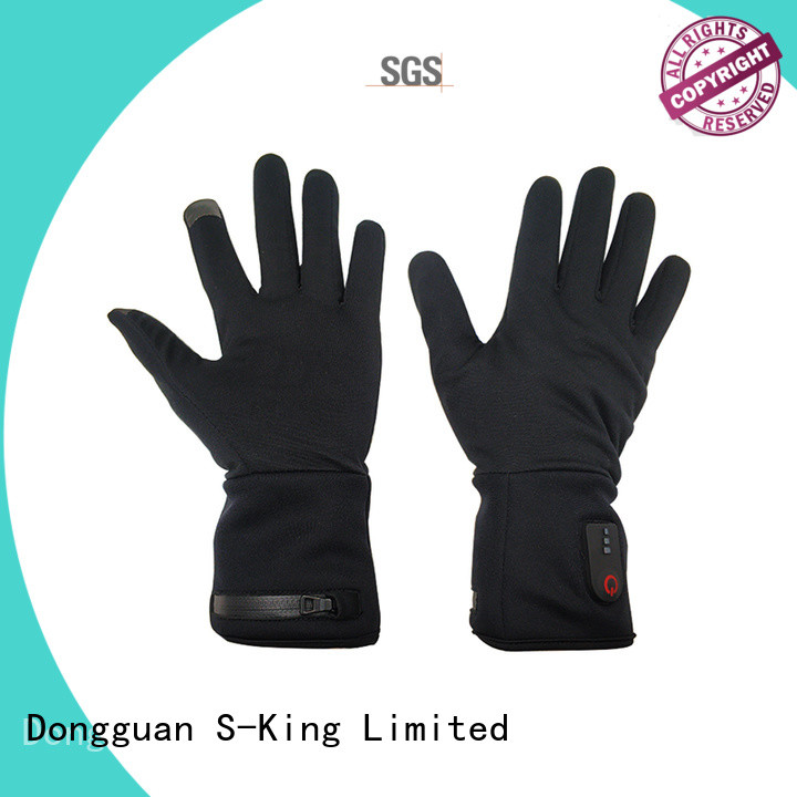 online electric gloves warm with prined pattern for ice house