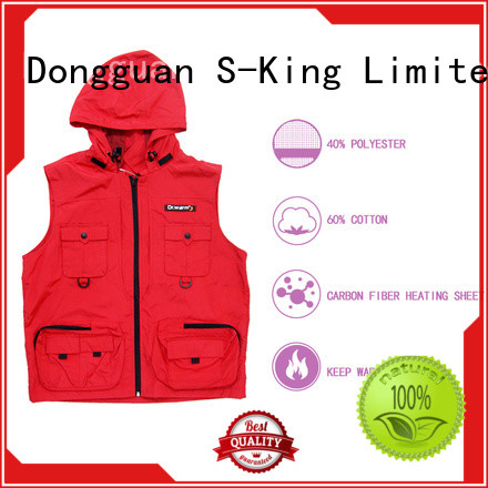 Dr. Warm best battery heated vest improves blood circulation for outdoor