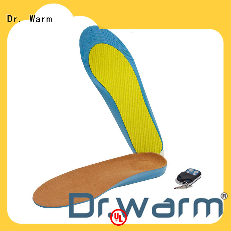 Dr. Warm usb electric insoles lasts for 3-7hours for ice house