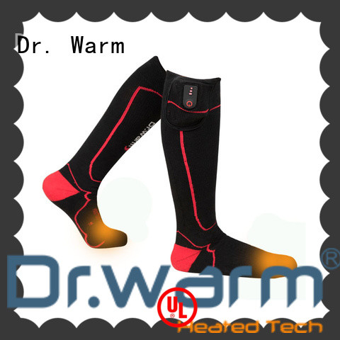 Dr. Warm soft electric heated socks with smart design for home