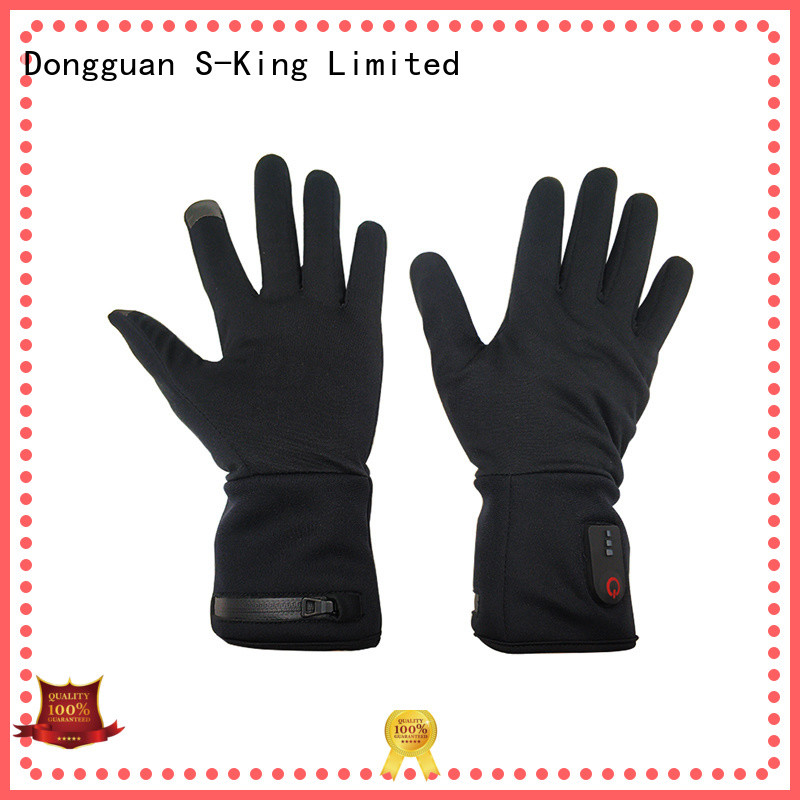 suitable mens heated gloves for outdoor