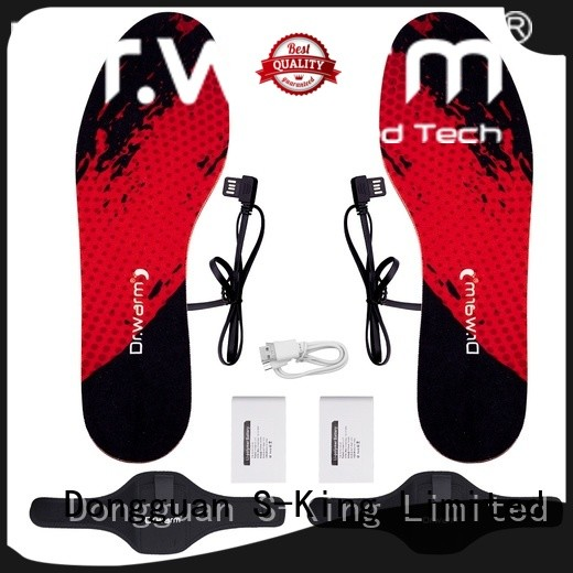 Dr. Warm heated foot insoles