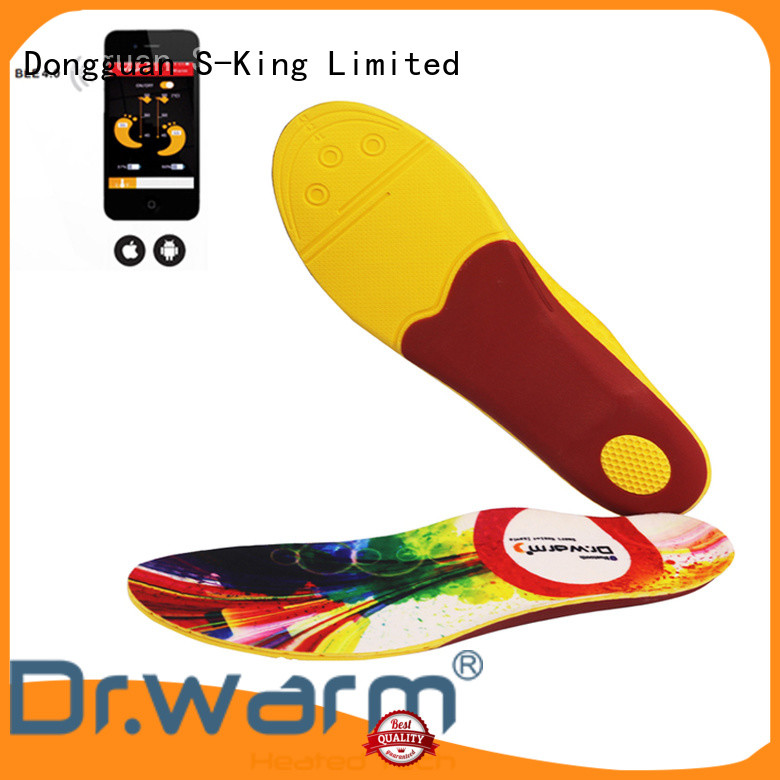 Dr. Warm warm heated insoles for work boots fit to most shoes for indoor use