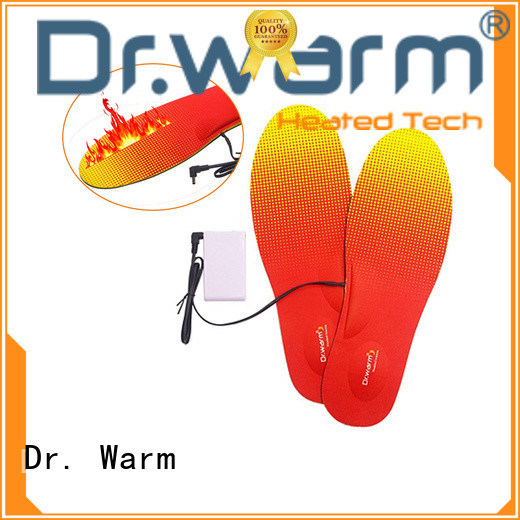 control heated ski boot insoles suit your foot shape for home