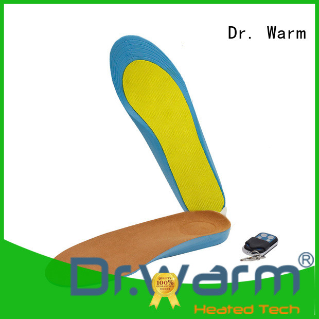 Dr. Warm wire heated insoles lasts for 3-7hours for ice house