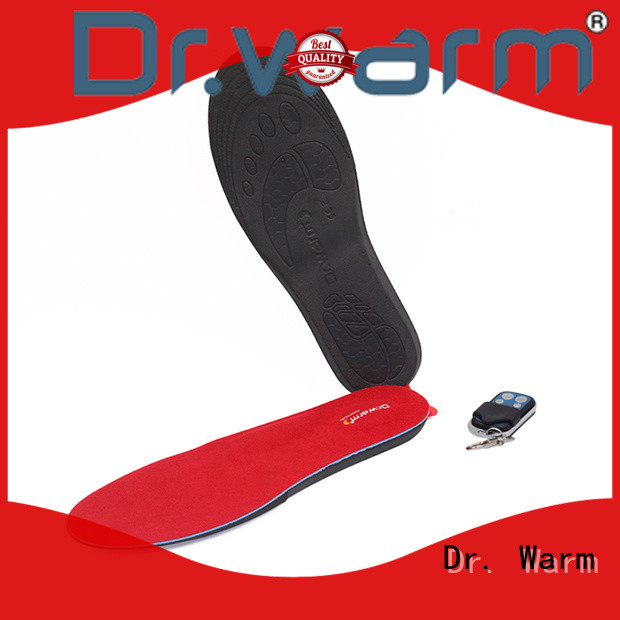 Dr. Warm control the best heated insoles with cotton for home
