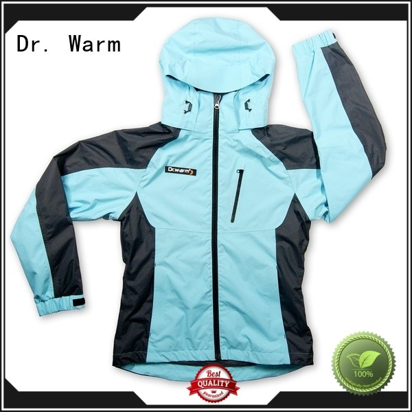 Dr. Warm warmer electric jacket with heel cushion design for winter