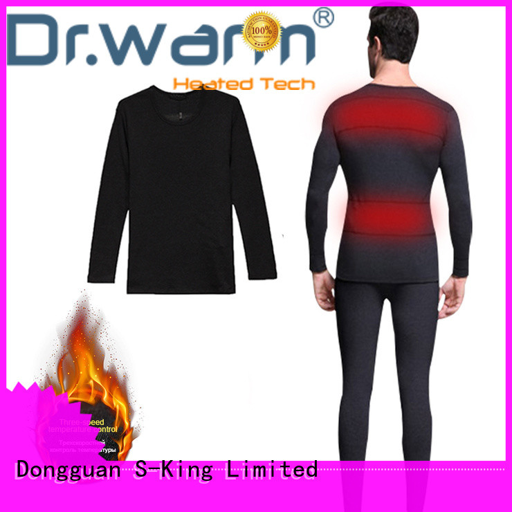 warm electric heated underwear warm level for winter