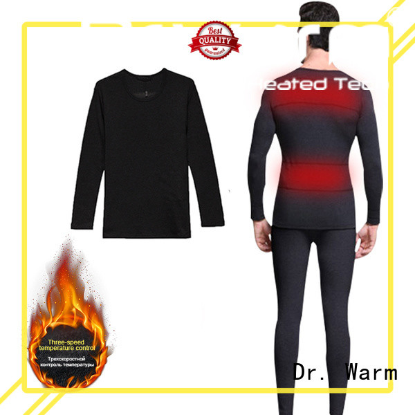 Dr. Warm online electric heated underwear level for winter