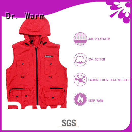 Dr. Warm area best heated vest improves blood circulation for winter