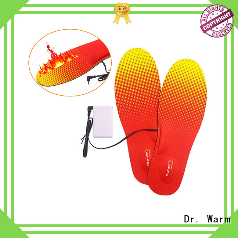 Dr. Warm dr battery operated insoles fit to most shoes for winter
