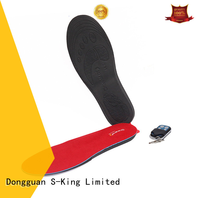 Dr. Warm rechargeable heated shoe insoles electric for ice house