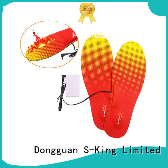 Dr. Warm rechargeable heated sole fit to most shoes for winter
