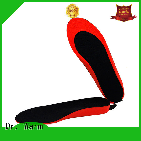 Dr. Warm control remote heated insoles suit your foot shape for outdoor