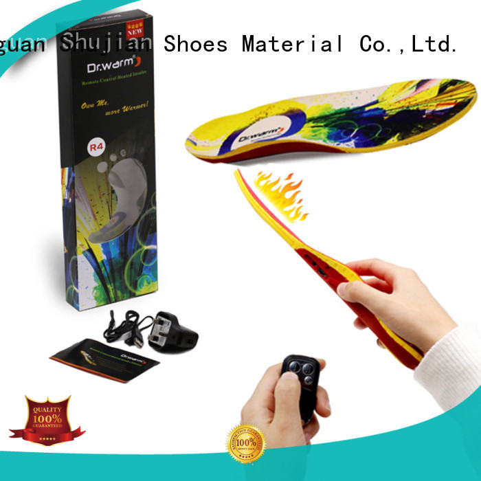 Dr. Warm Brand remote heat moldable insoles bluetooth supplier