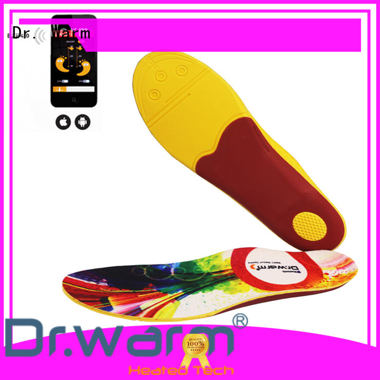 bluetooth heated ski boot insoles dr for outdoor Dr. Warm