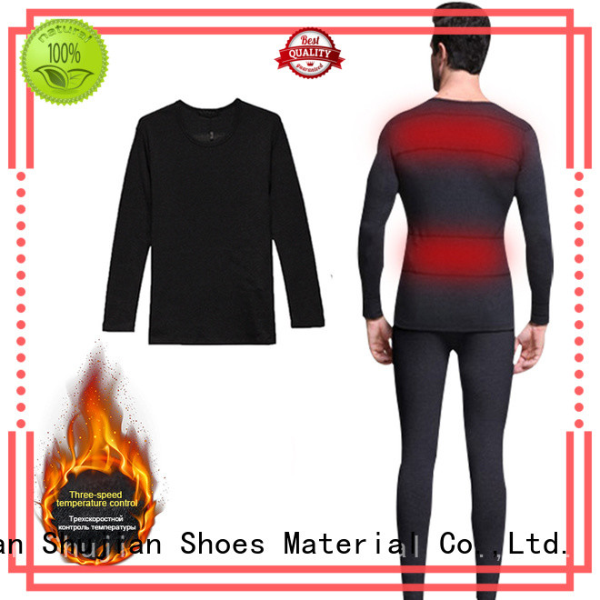 washable Custom level battery heated thermal underwear winter Dr. Warm