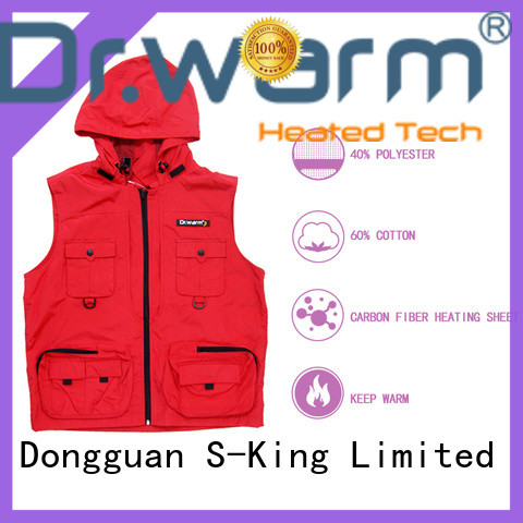 Dr. Warm battery vest warm improves blood circulation for ice house
