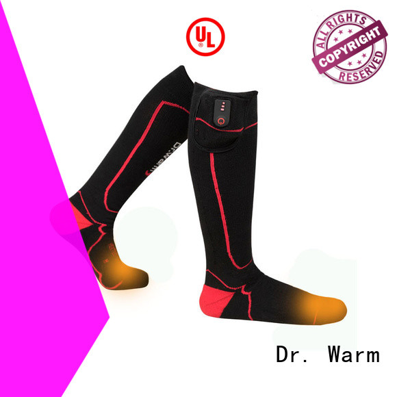 Dr. Warm cotton heated socks and gloves degrees for ice house