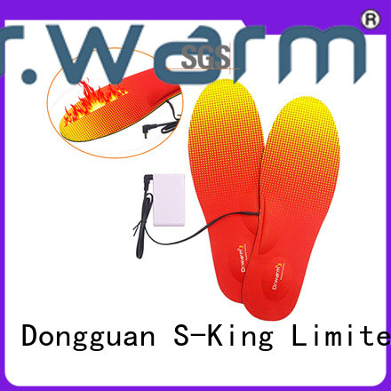 Dr. Warm warm heated insoles fit to most shoes for ice house
