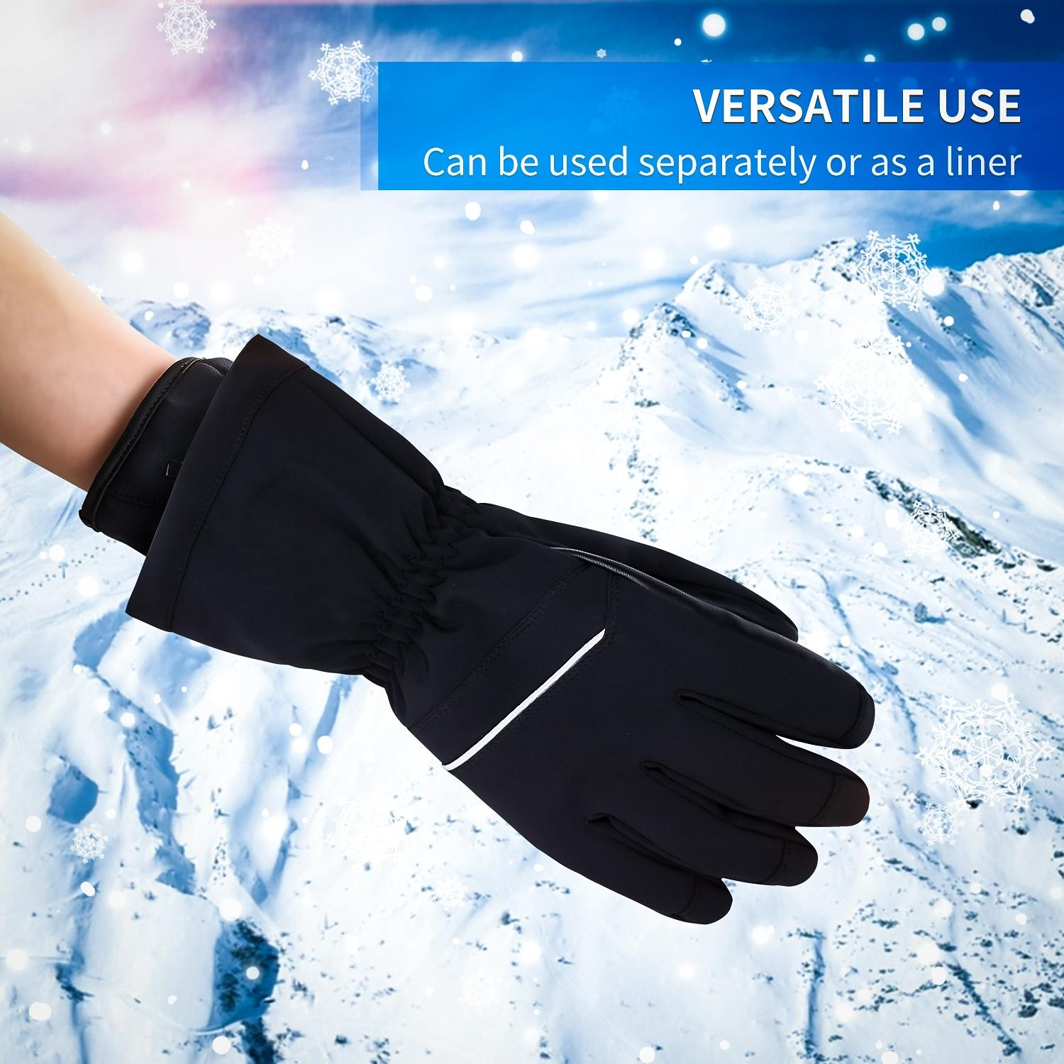 Dr. Warm heated bicycle gloves-5