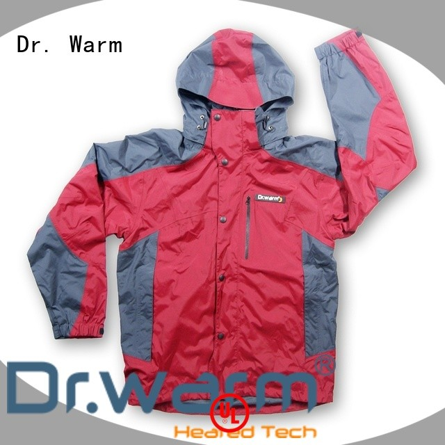 battery heated jacket male for indoor use Dr. Warm