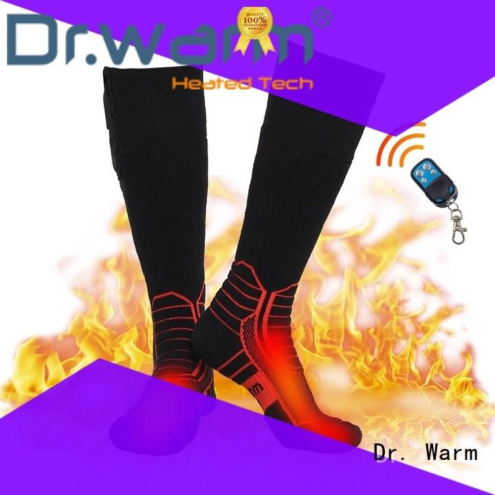 Dr. Warm heated cycling socks