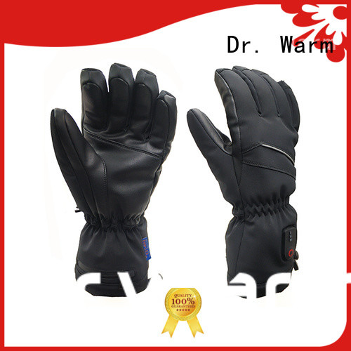 high quality battery heated gloves uk women with prined pattern for home